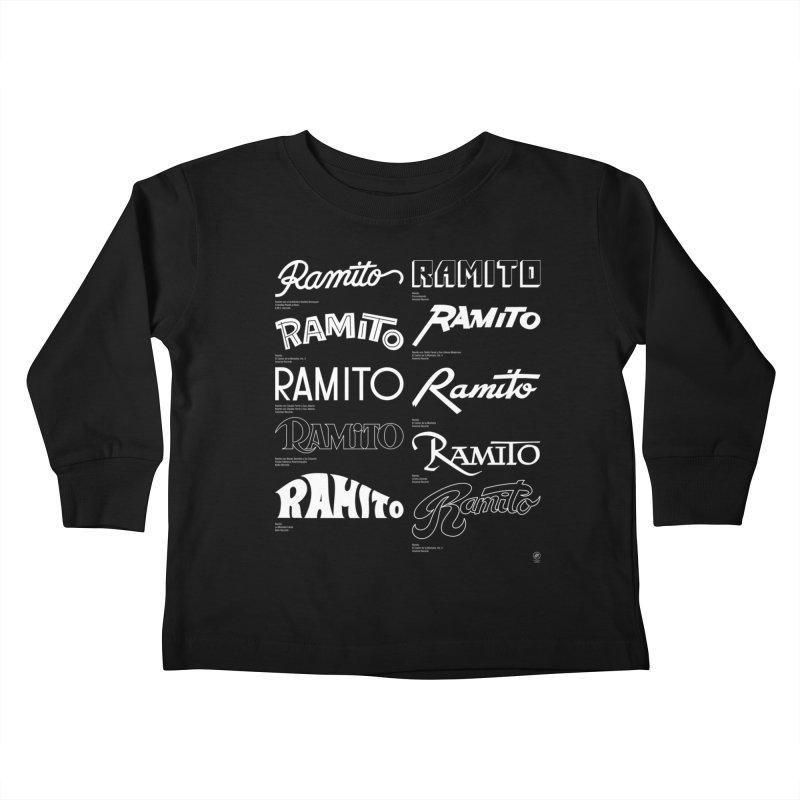 Ramito Kids Toddler Longsleeve T-Shirt by 691NYC