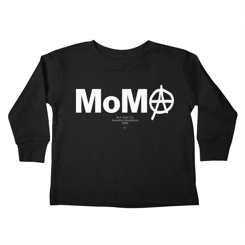 Anarchy at the MoMA Kids Toddler Longsleeve T-Shirt by 691NYC