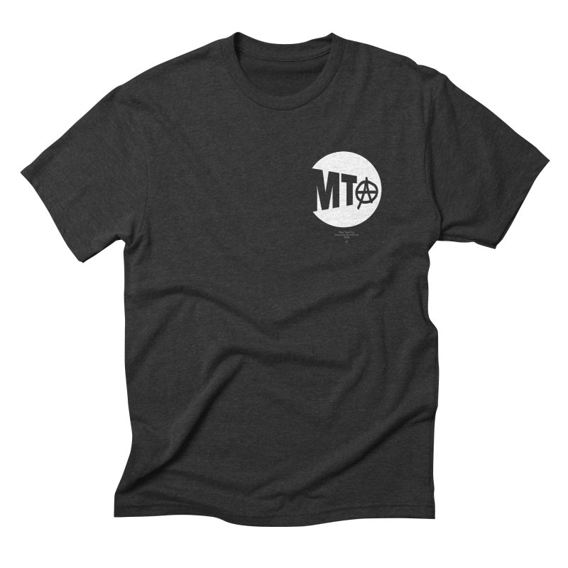 Anarchy at the MTA Men's T-Shirt by 691NYC