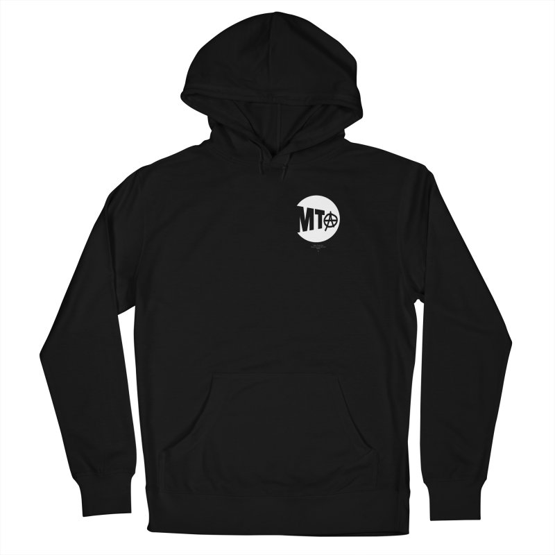 Anarchy at the MTA Men's Pullover Hoody by 691NYC