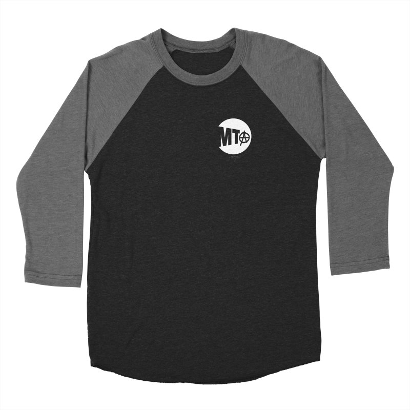 Anarchy at the MTA Women's Longsleeve T-Shirt by 691NYC