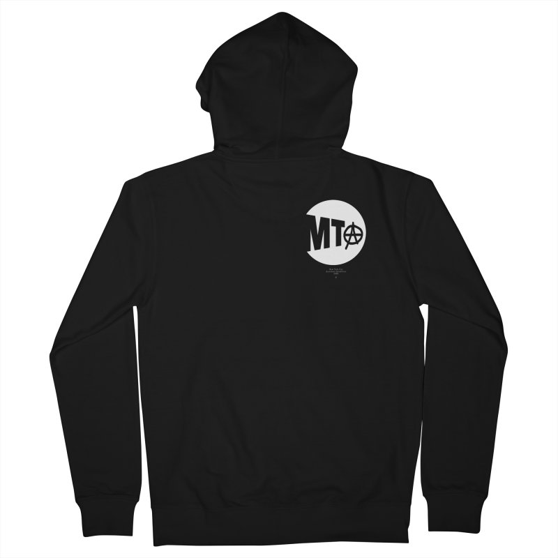Anarchy at the MTA Women's Zip-Up Hoody by 691NYC
