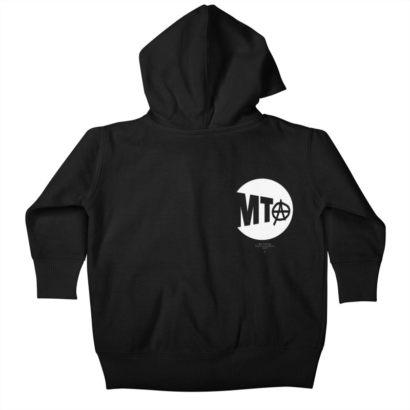 Anarchy at the MTA Kids Baby Zip-Up Hoody by 691NYC