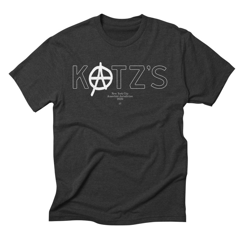 Anarchy at Katz's Men's T-Shirt by 691NYC