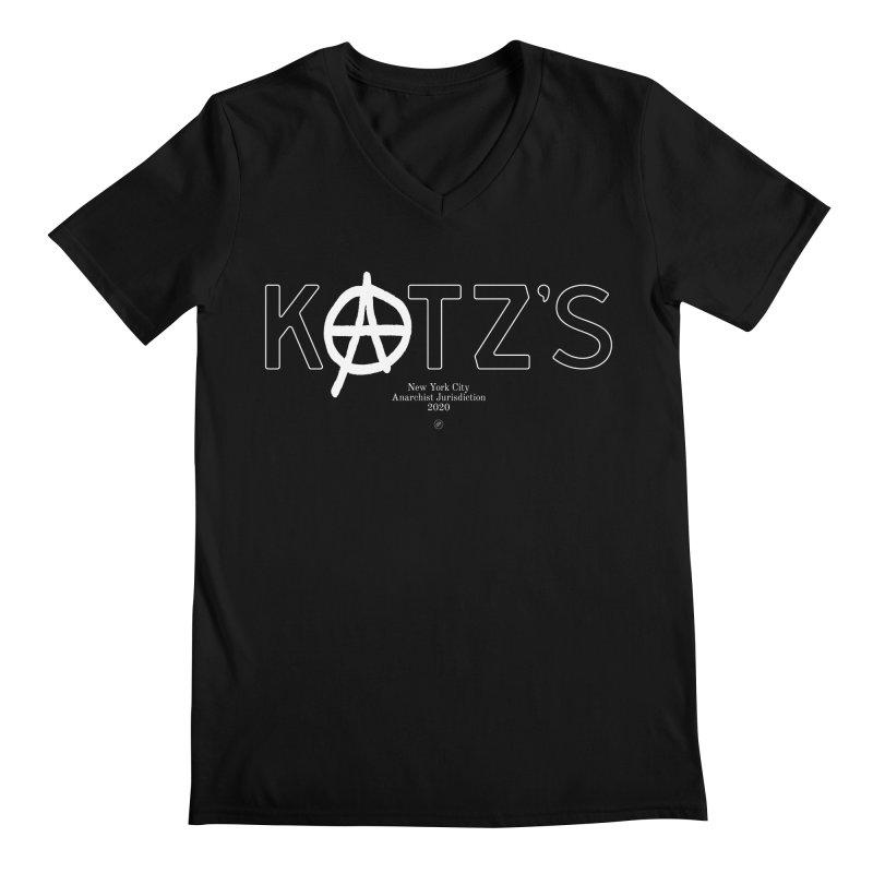 Anarchy at Katz's Men's V-Neck by 691NYC