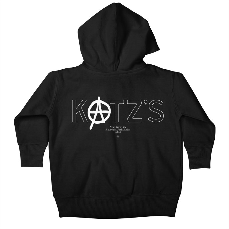 Anarchy at Katz's Kids Baby Zip-Up Hoody by 691NYC