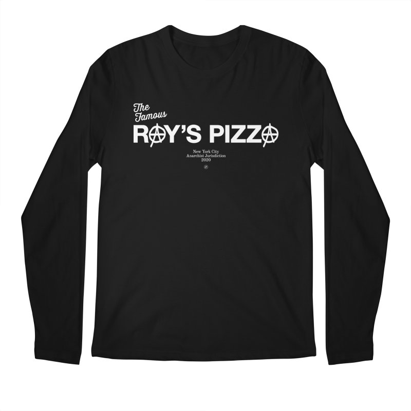 Anarchy at the Famous Ray's Pizza Men's Longsleeve T-Shirt by 691NYC