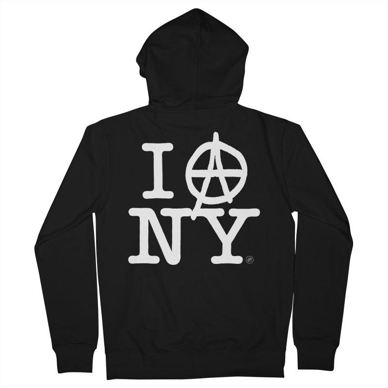 I Ⓐ NY (Antifa Version) Women's Zip-Up Hoody by 691NYC