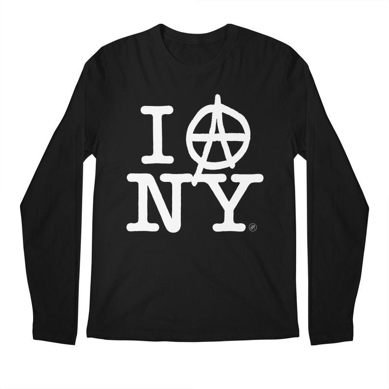 I Ⓐ NY (Antifa Version) Men's Longsleeve T-Shirt by 691NYC
