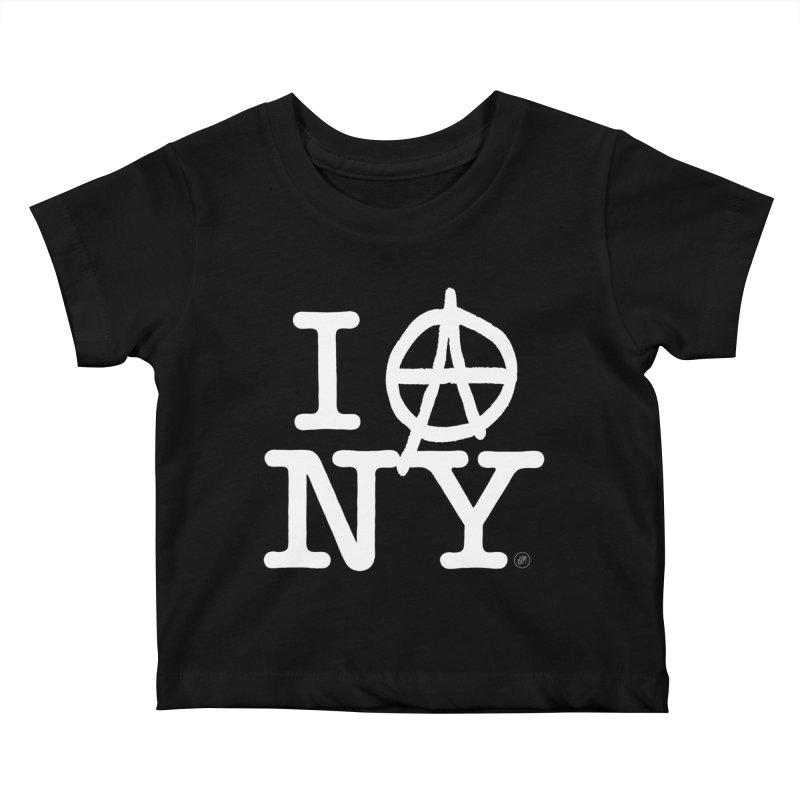I Ⓐ NY (Antifa Version) Kids Baby T-Shirt by 691NYC