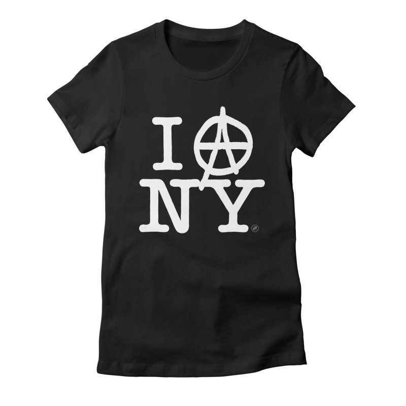 I Ⓐ NY (Antifa Version) Women's T-Shirt by 691NYC