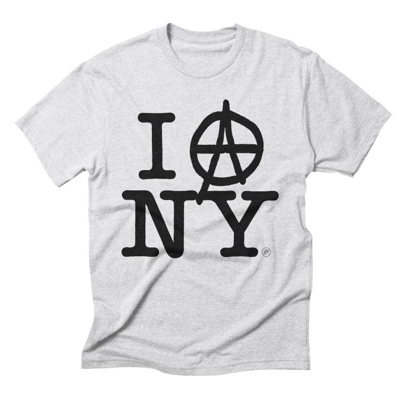 I Ⓐ NY (SJW Version) Men's T-Shirt by 691NYC