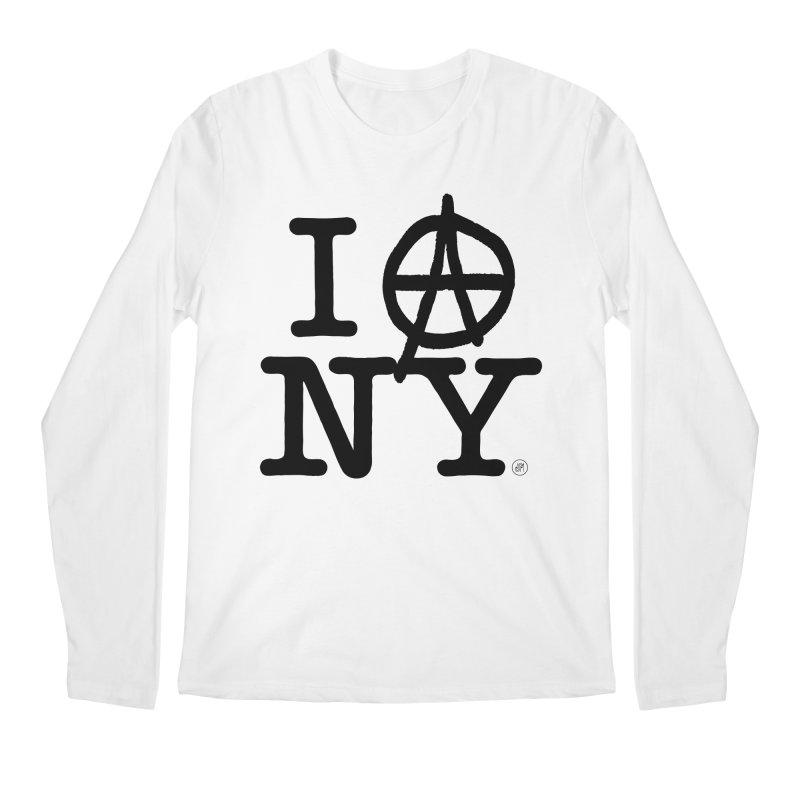 I Ⓐ NY (SJW Version) Men's Longsleeve T-Shirt by 691NYC