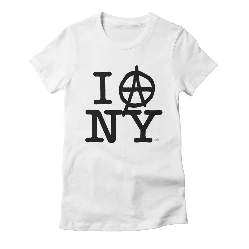 I Ⓐ NY (SJW Version) Women's T-Shirt by 691NYC