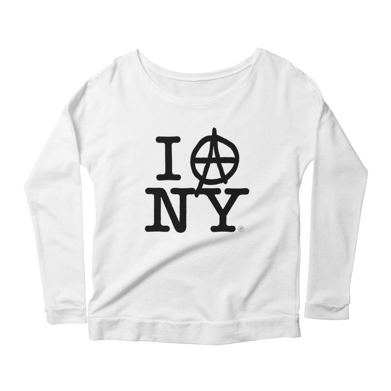 I Ⓐ NY (SJW Version) Women's Longsleeve T-Shirt by 691NYC