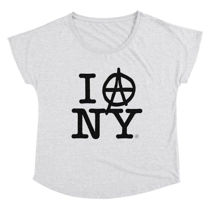 I Ⓐ NY (SJW Version) Women's Scoop Neck by 691NYC