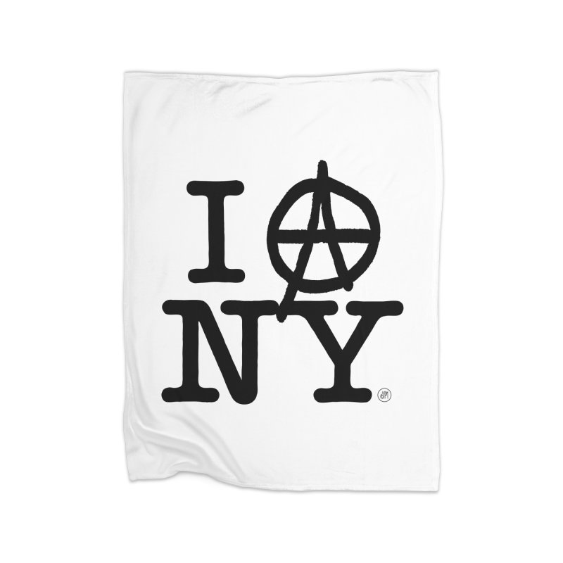 I Ⓐ NY (SJW Version) Home Blanket by 691NYC