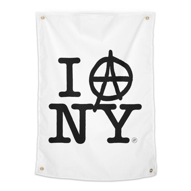 I Ⓐ NY (SJW Version) Home Tapestry by 691NYC