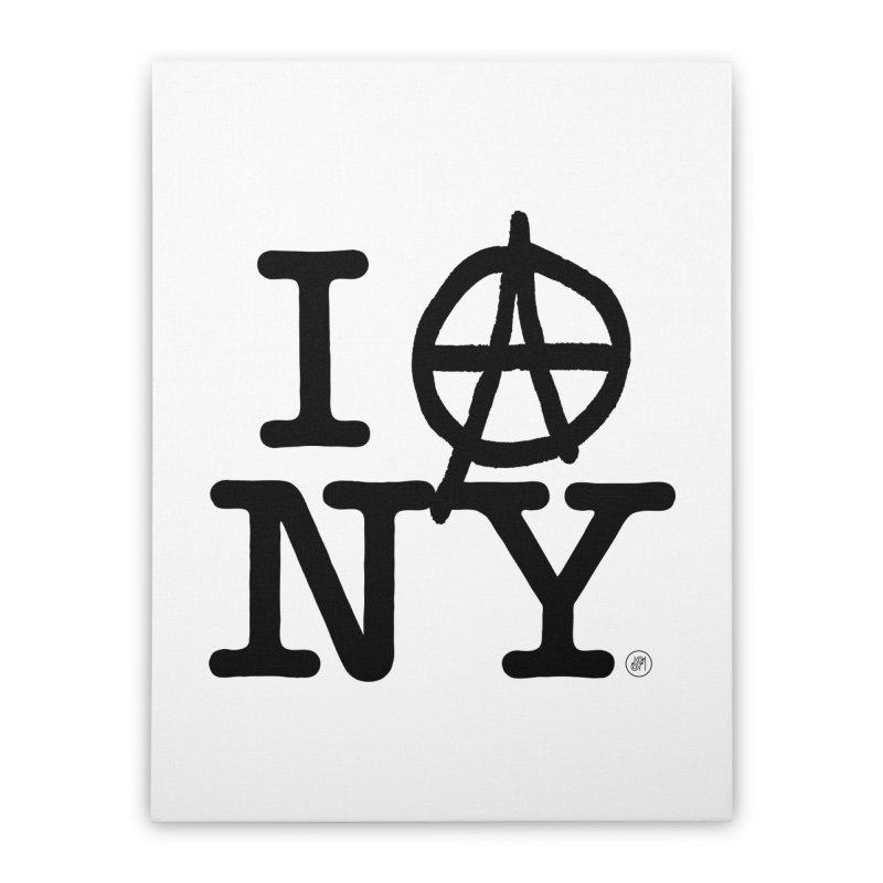 I Ⓐ NY (SJW Version) Home Stretched Canvas by 691NYC