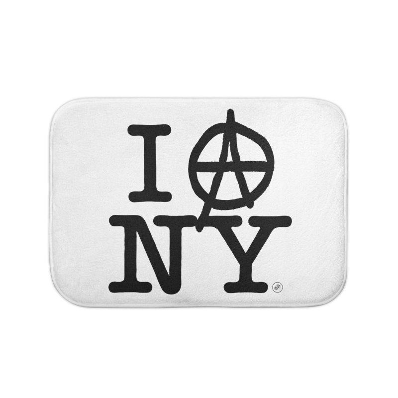 I Ⓐ NY (SJW Version) Home Bath Mat by 691NYC