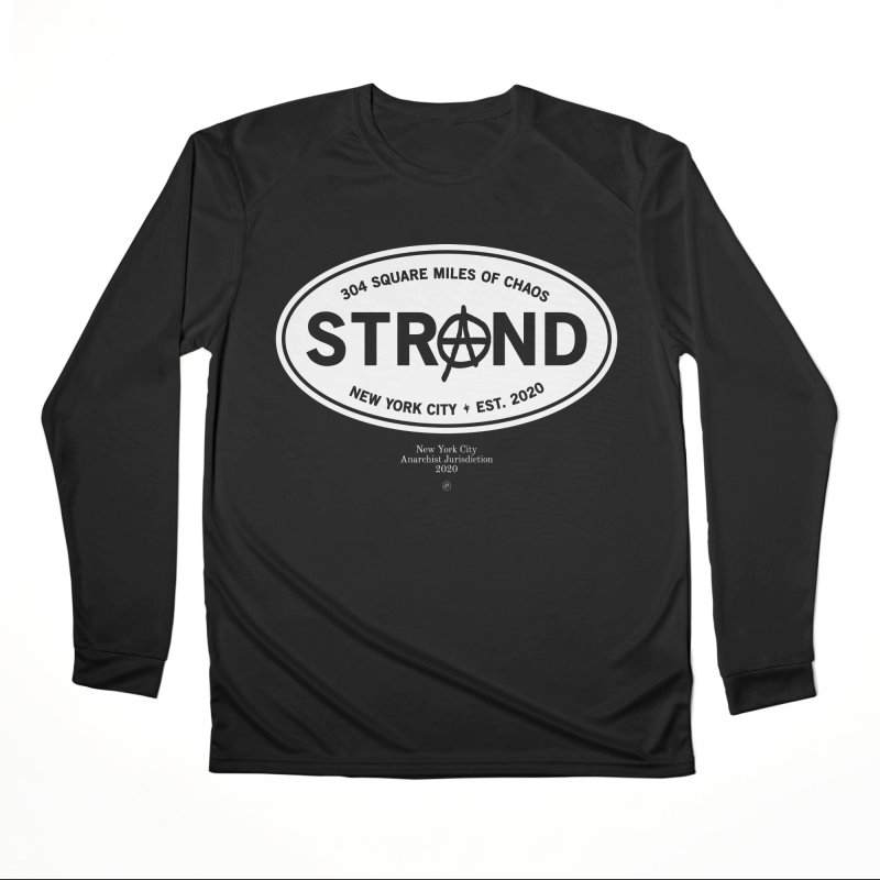Anarchy at the Strand Women's Longsleeve T-Shirt by 691NYC