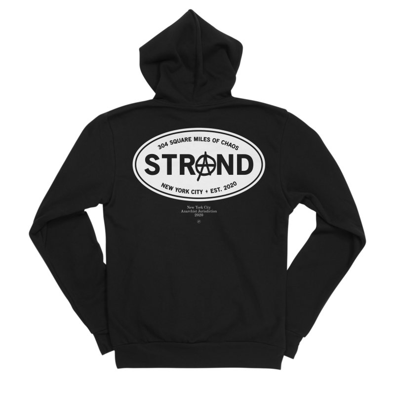 Anarchy at the Strand Men's Zip-Up Hoody by 691NYC