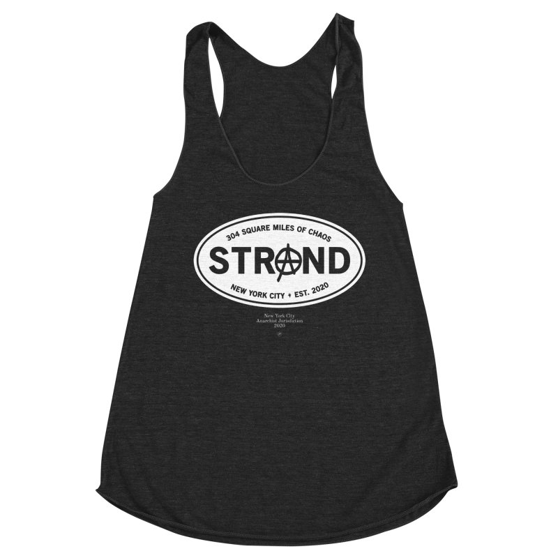 Anarchy at the Strand Women's Tank by 691NYC