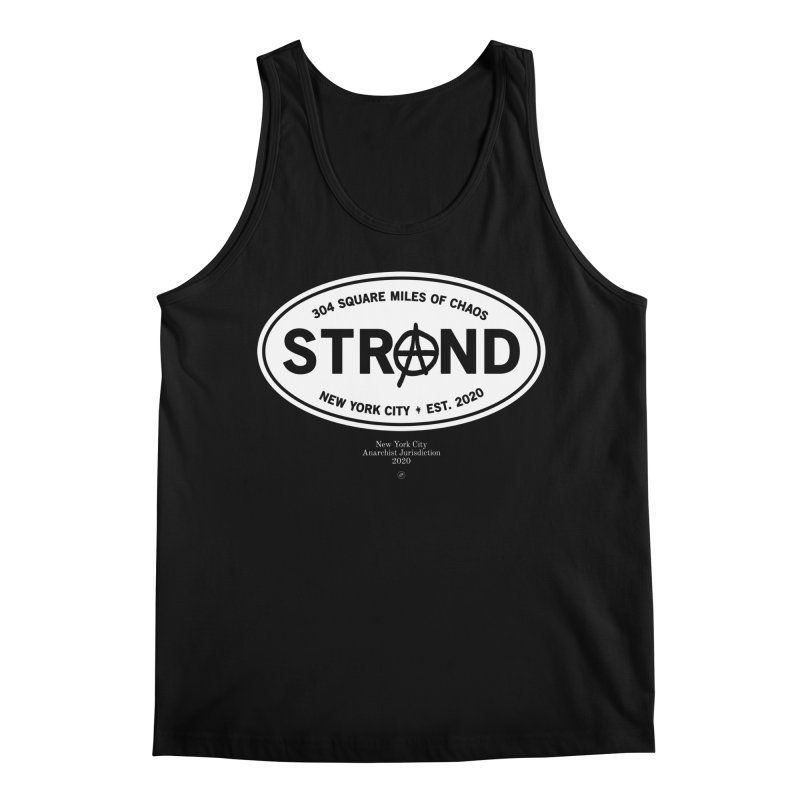 Anarchy at the Strand Men's Tank by 691NYC