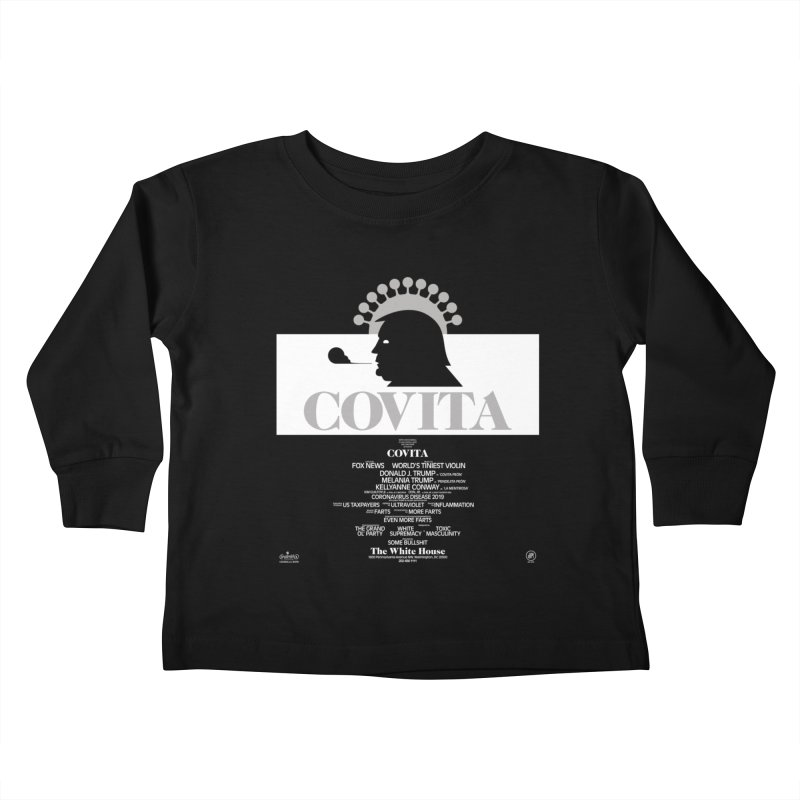 COVITA Kids Toddler Longsleeve T-Shirt by 691NYC