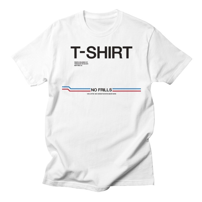 NO FRILLS T-SHIRT in Men's Regular T-Shirt White by 691.NYC