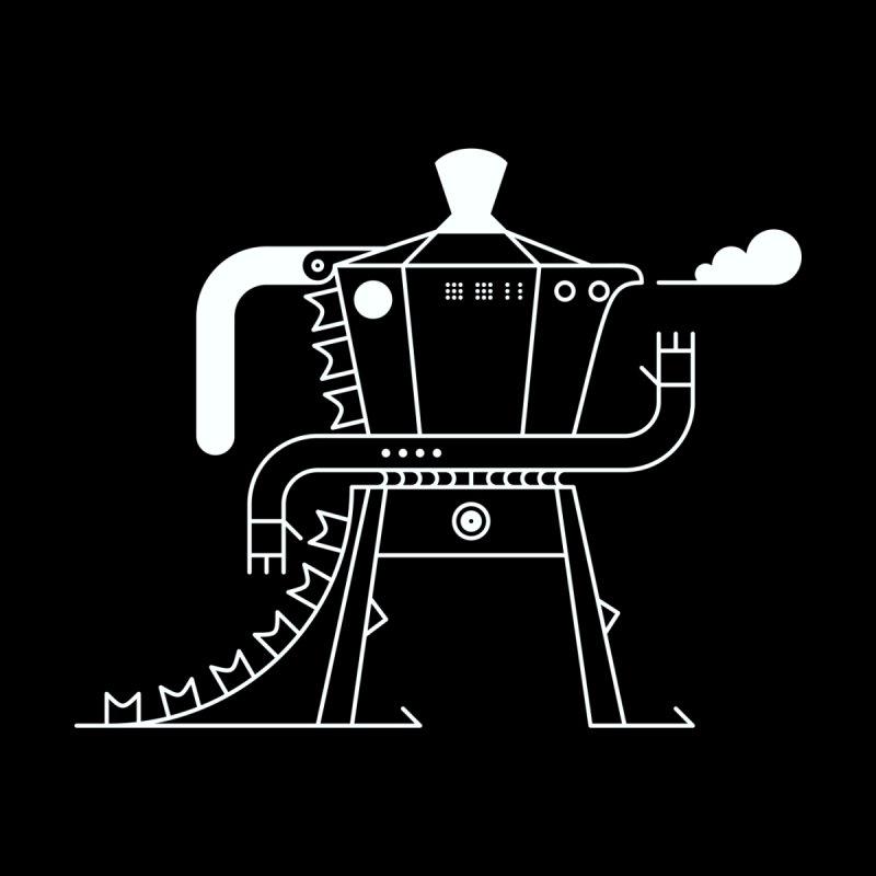 Mokagodzilla! № 2 Men's Zip-Up Hoody by 691NYC