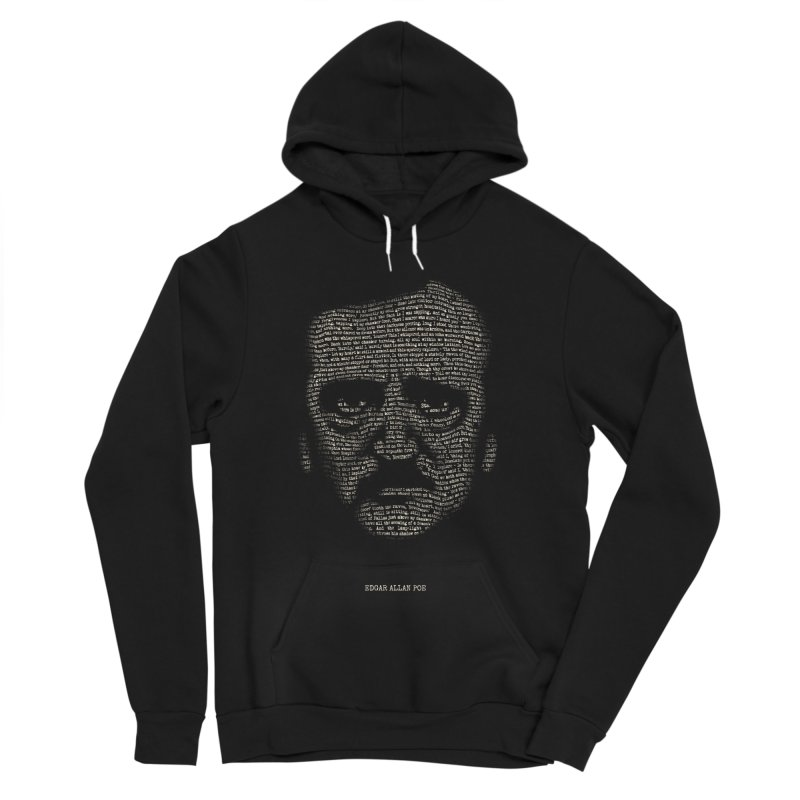 Edgar Allan Poe - A Portrait of Madness Women's Sponge Fleece Pullover Hoody by 6amcrisis's Artist Shop