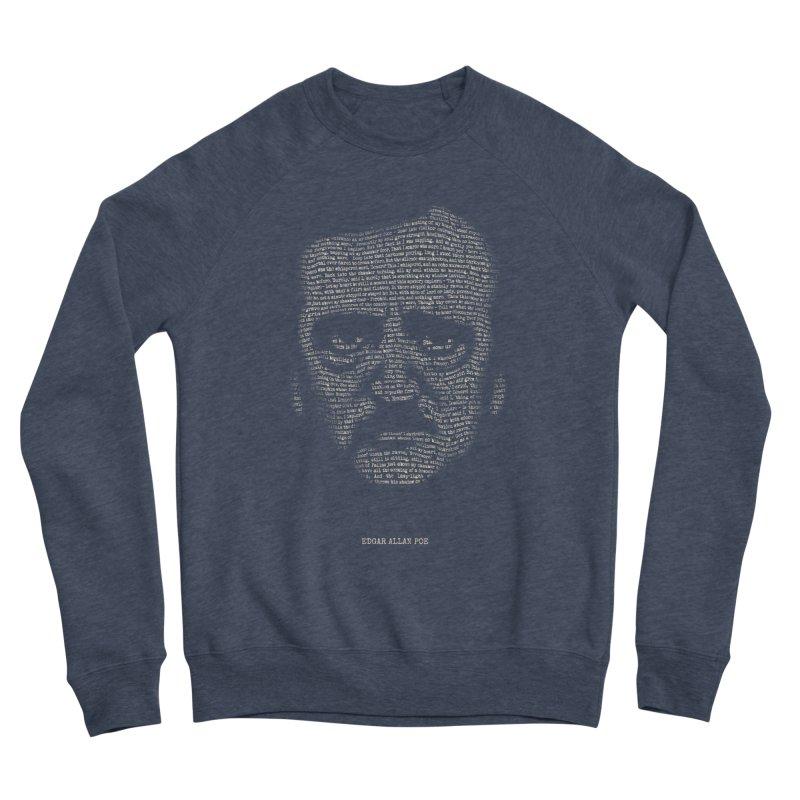 Edgar Allan Poe - A Portrait of Madness Women's Sponge Fleece Sweatshirt by 6amcrisis's Artist Shop