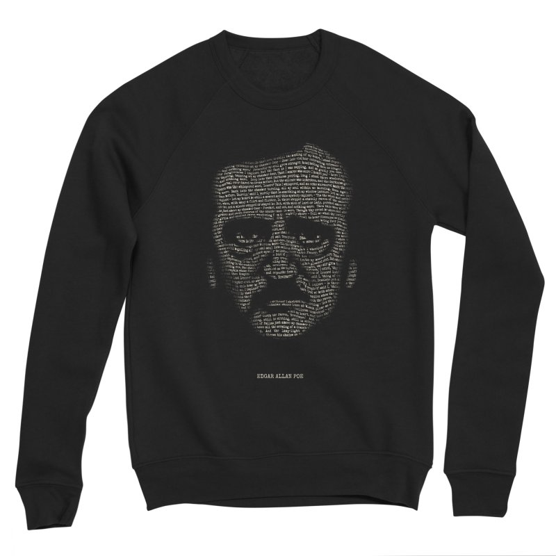 Edgar Allan Poe - A Portrait of Madness Women's Sponge Fleece Sweatshirt by 6amcrisis's Artist Shop