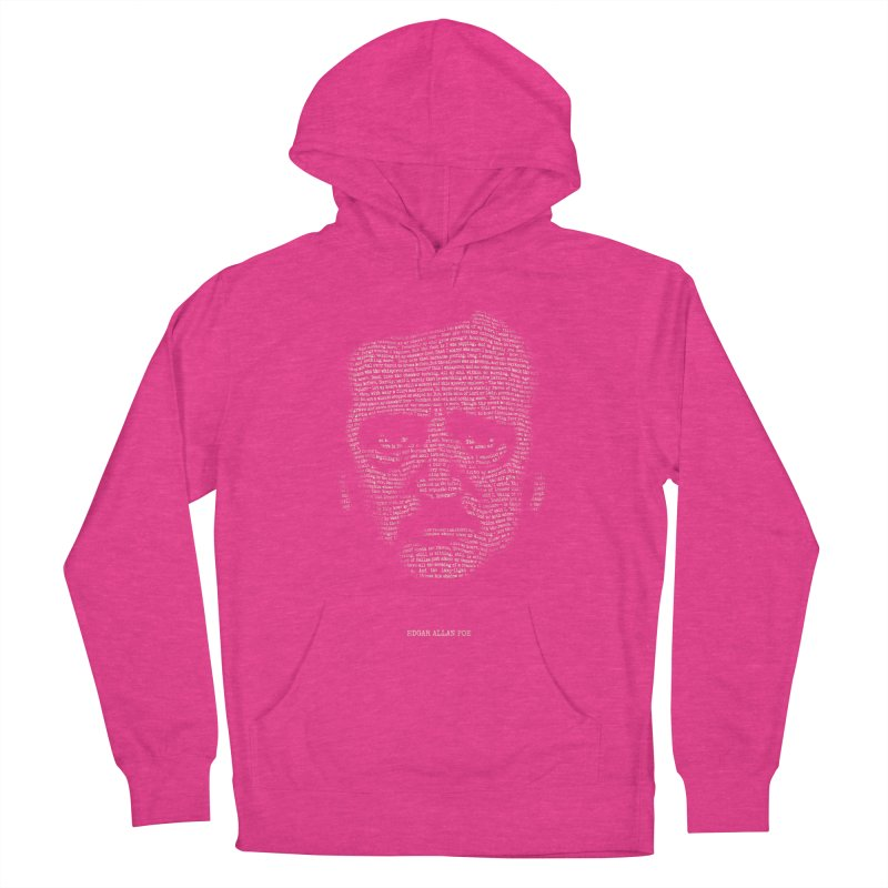 Edgar Allan Poe - A Portrait of Madness Women's French Terry Pullover Hoody by 6amcrisis's Artist Shop