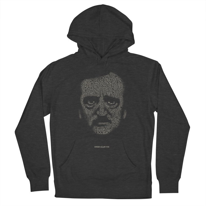 Edgar Allan Poe - A Portrait of Madness Men's Pullover Hoody by 6amcrisis's Artist Shop