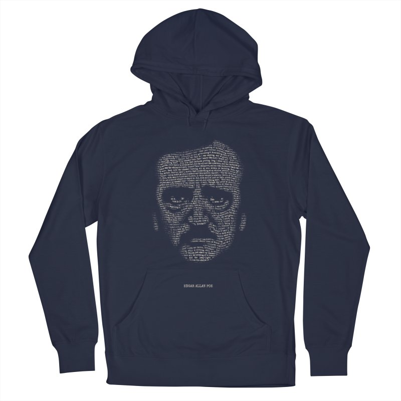 Edgar Allan Poe - A Portrait of Madness Men's French Terry Pullover Hoody by 6amcrisis's Artist Shop