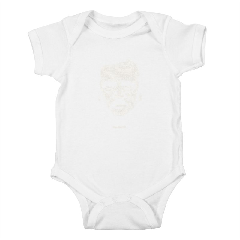 Edgar Allan Poe - A Portrait of Madness Kids Baby Bodysuit by 6amcrisis's Artist Shop