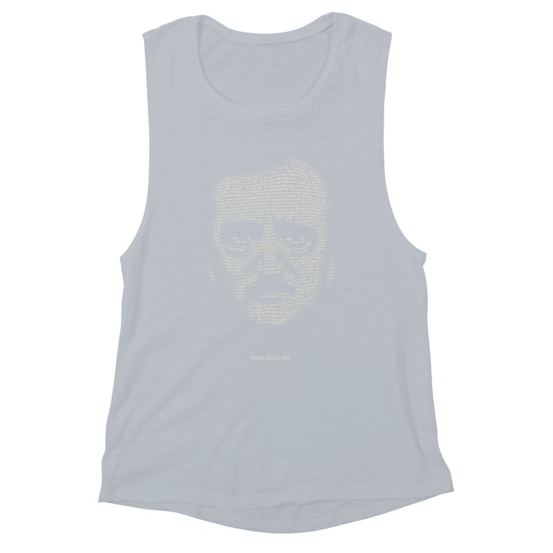 Edgar Allan Poe - A Portrait of Madness Women's Tank by 6amcrisis's Artist Shop
