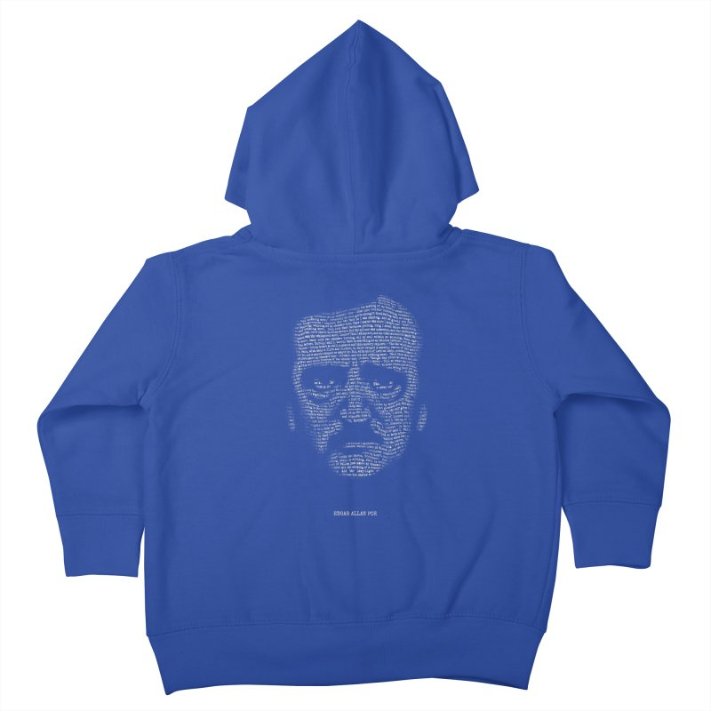 Edgar Allan Poe - A Portrait of Madness Kids Toddler Zip-Up Hoody by 6amcrisis's Artist Shop