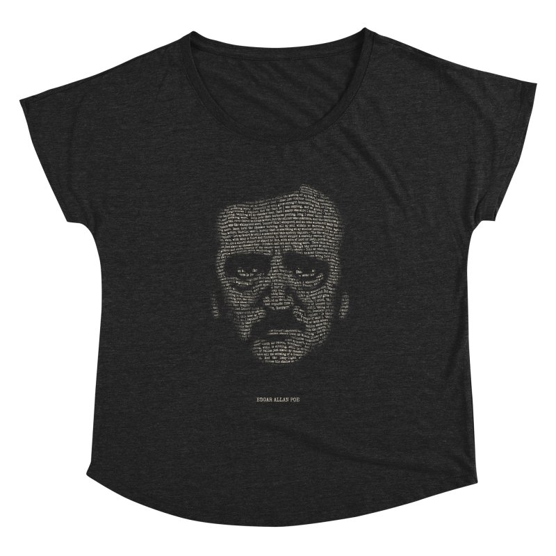 Edgar Allan Poe - A Portrait of Madness Women's Dolman Scoop Neck by 6amcrisis's Artist Shop