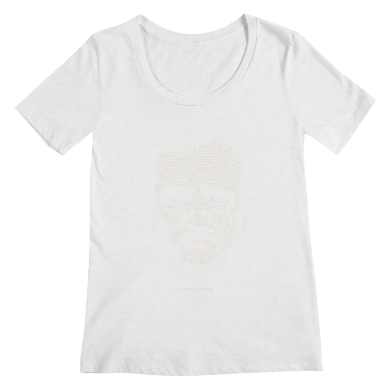 Edgar Allan Poe - A Portrait of Madness Women's Regular Scoop Neck by 6amcrisis's Artist Shop