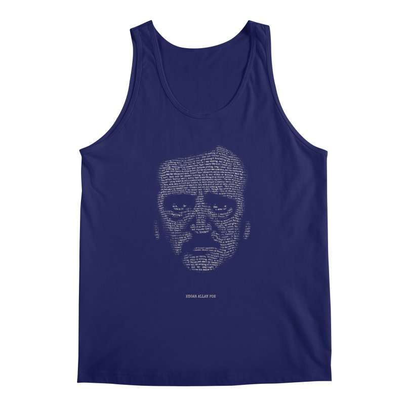 Edgar Allan Poe - A Portrait of Madness Men's Regular Tank by 6amcrisis's Artist Shop
