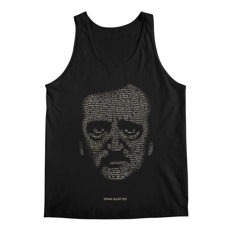 Edgar Allan Poe - A Portrait of Madness Men's Regular Tank by 6amcrisis's Artist Shop