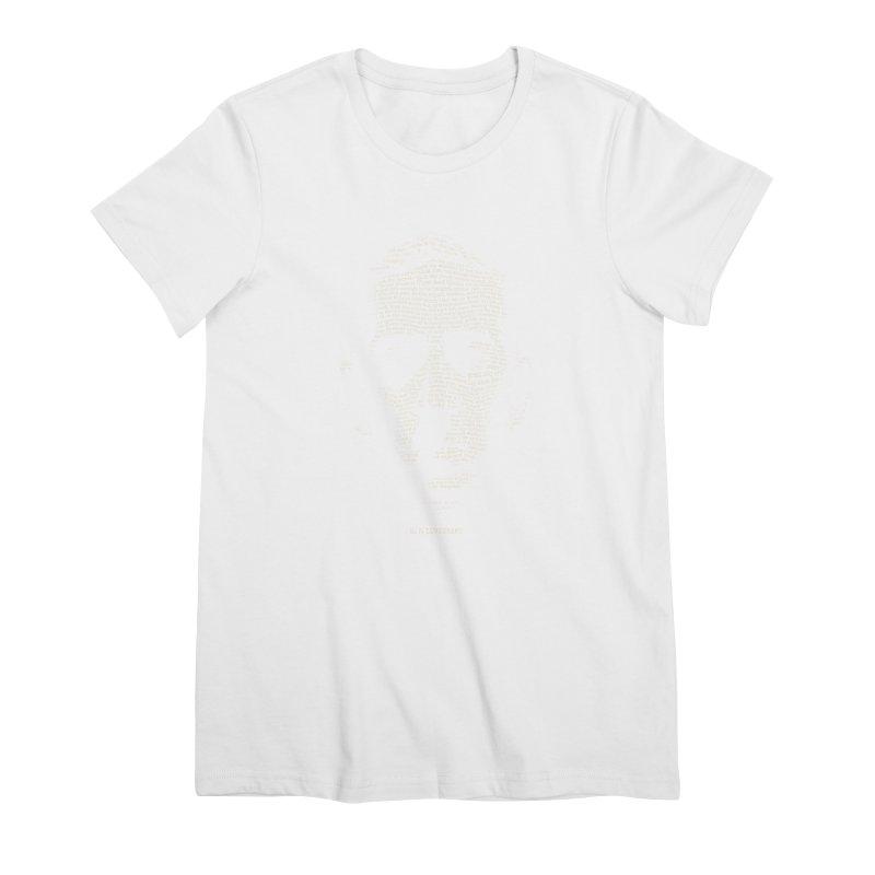 H.P. Lovecraft - Necronomicon Women's Premium T-Shirt by 6amcrisis's Artist Shop