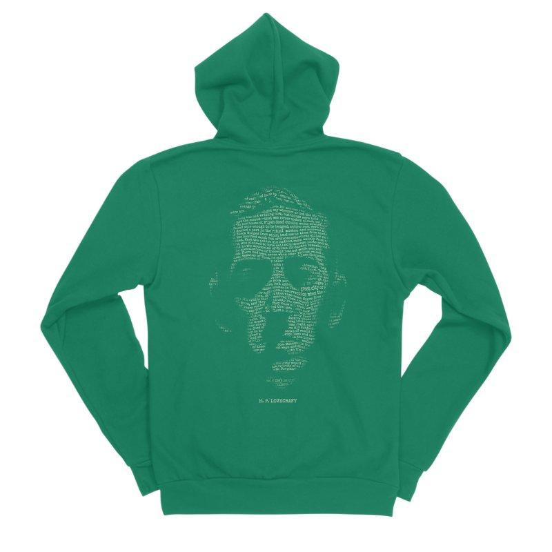 H.P. Lovecraft - Necronomicon Women's Sponge Fleece Zip-Up Hoody by 6amcrisis's Artist Shop
