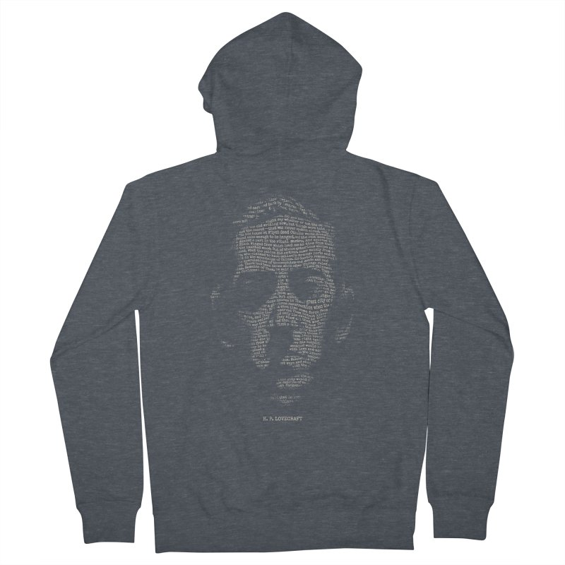H.P. Lovecraft - Necronomicon Women's French Terry Zip-Up Hoody by 6amcrisis's Artist Shop