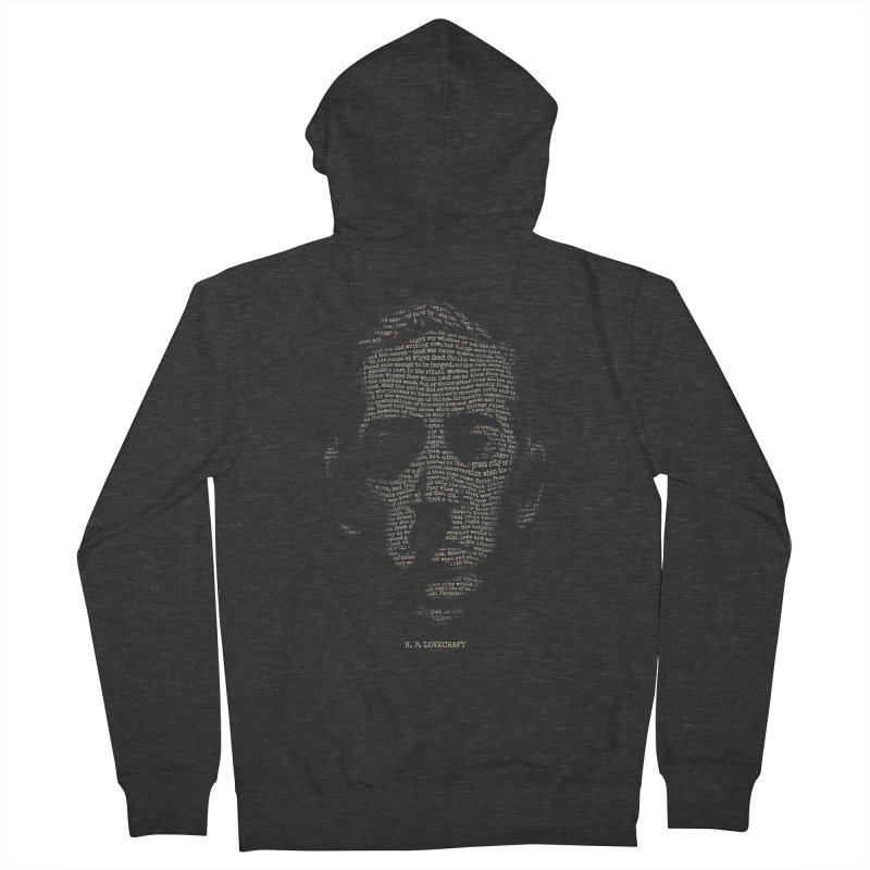 H.P. Lovecraft - Necronomicon Men's French Terry Zip-Up Hoody by 6amcrisis's Artist Shop