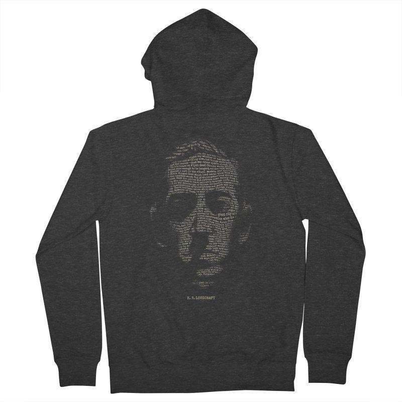 H.P. Lovecraft - Necronomicon Men's Zip-Up Hoody by 6amcrisis's Artist Shop