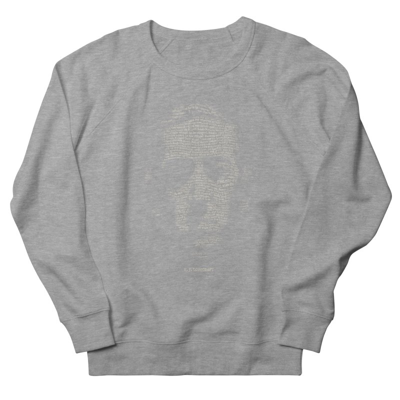 H.P. Lovecraft - Necronomicon Women's French Terry Sweatshirt by 6amcrisis's Artist Shop